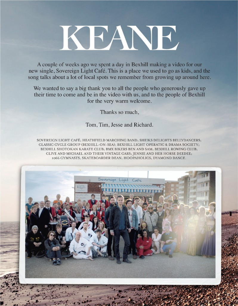 Keane Thank You