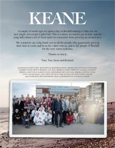 Thank You from Keane