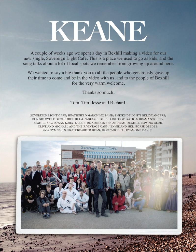 Keane Thank You